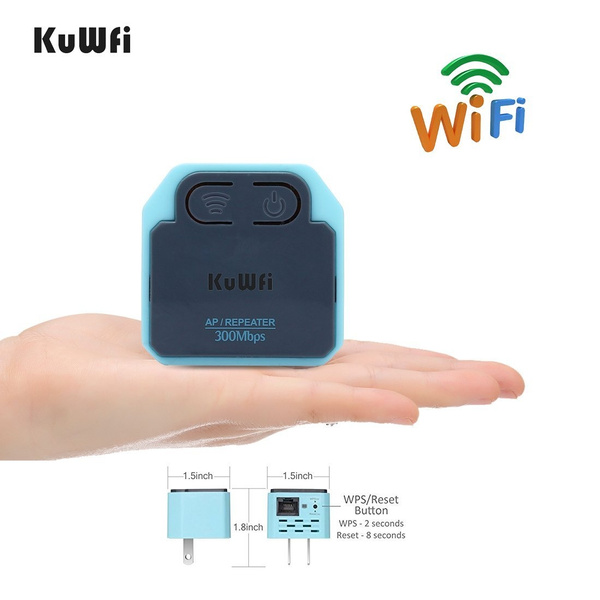 Wifi 300Mbps Signal Extender Booster Wireless-N AP Range 802.11 Repeater US//EU A