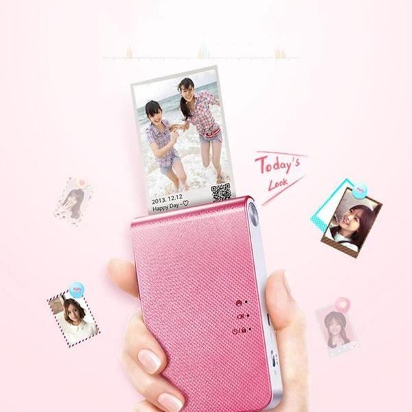 PD239 Fun Polaroid Pocket Printer Portable Mobile Phone Photo Mini Printing  Machine