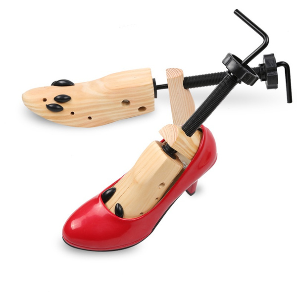 Adjustable Shoes Stretcher Men Women Shoe Boots Tree Shaper Pine Wooden 3 Sizes