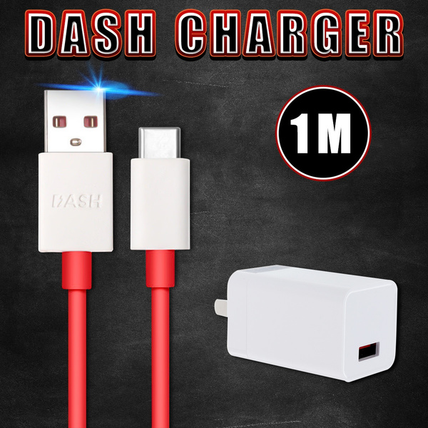 5V 4A Red Dash Charge Fast Charger Data Type-C USB Cable For Oneplus 3 3T 5  5T USEU