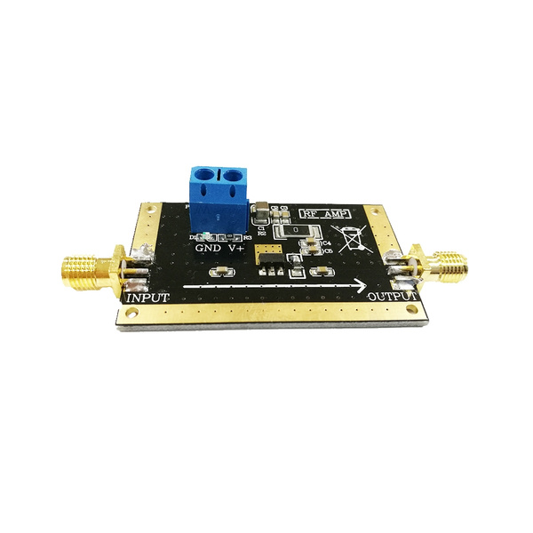 SPF5189 0 05-4G wideband amplification LNA RF stereo power amp mini amp  stereo integrated amplifier
