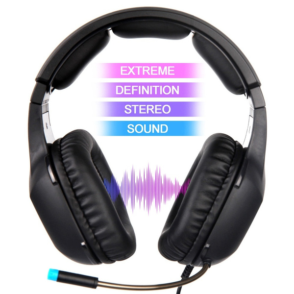 SADES SA818 Stereo Gaming Headphones with Noise-reduction Mic For  PC/Laptop/iPad