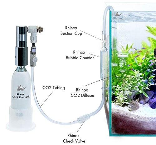 wish rhinox nano co2 diffuser keeps aquarium plants healthy with