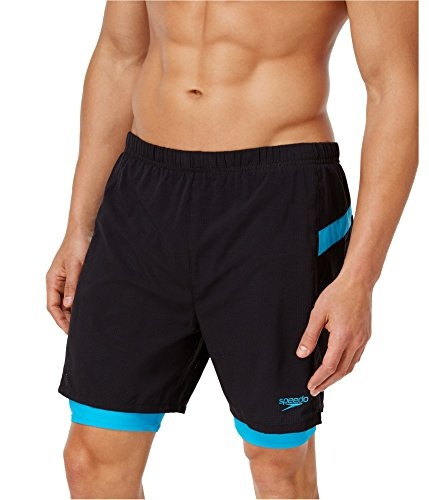 c46a2d0334 Wish | Speedo Men's Hydrosprinter with Compression Swimsuit Shorts Workout  & Swim Trunks