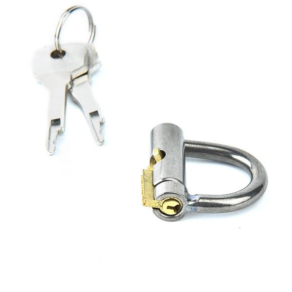 Steel Pa Lock Prince Albert Piercing Men Jewellery Garden Wish