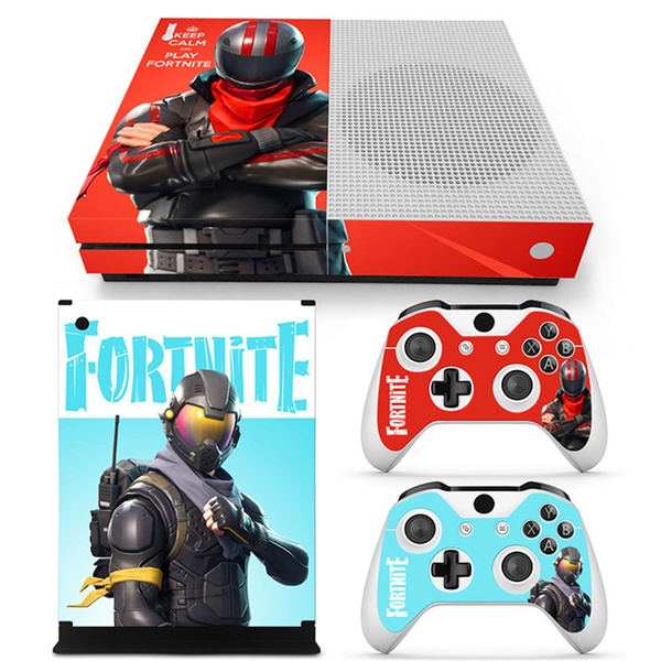 2019 New Fortnite Xbox One S Sticker Covers Decal For Xbox Ones Console Controllers Skins Fortnite Battle Royale