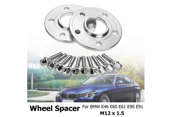 BMW 2X 12mm 2x 15mm HUBCENTRIC ALLOY WHEEL SPACERS BMW M135i 2010 ...