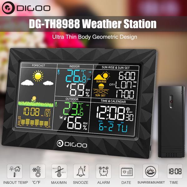 barometer, Clock, r233veil, humiditymeter