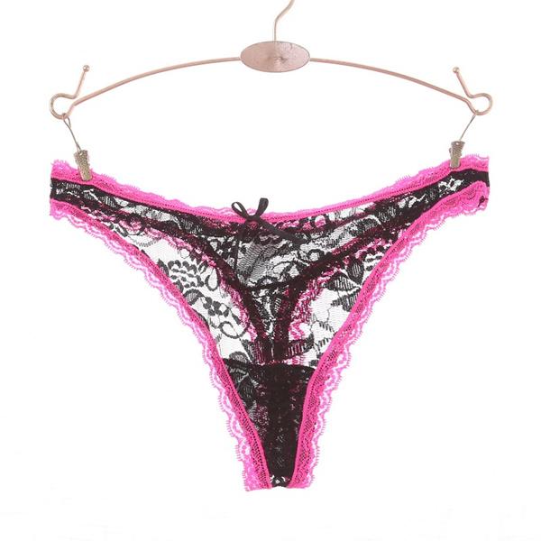 03ba0dea0bb 1PCS LOT Plus size Women s G-String Thongs Panties Woman G String Leopard  Mesh Satin Thong French Style Brand Quality Tanga