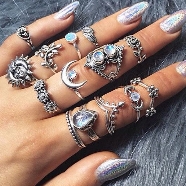 womensfashionampaccessorie, Flowers, Jewelry, Hollow-out