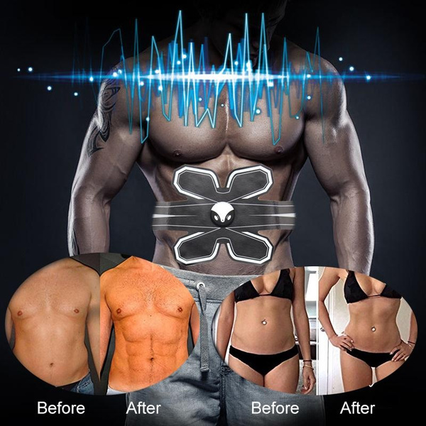 Electronic Wireless Muscle Toner and Abs Stimulator EMS Abdominal Trainer