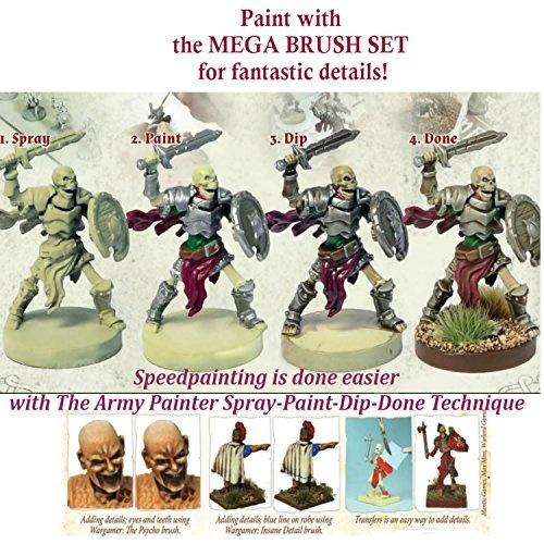Wish 10 Miniature Paint Brushes With Free Masterclass Kolinsky