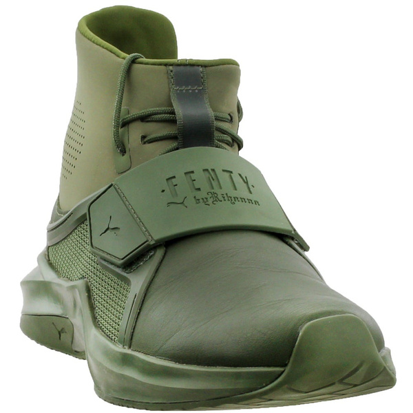 pretty nice d85b7 d9585 Puma Womens Fenty by Rihanna The Trainer High Athletic & Sneakers