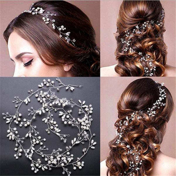 bridalheadband, Head, tiarabridalheadband, Chain