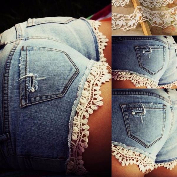 lacetrouser, Summer, Short pants, Shorts