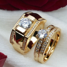 DIAMOND, wedding ring, gold, Engagement Ring