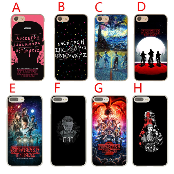 finest selection fc554 e007d as40 Stranger Things Hard Phone Coque Shell Case for Apple iPhone 7 8 Plus  6 6s 5 5s SE X Cover for iPhone XS Max XR Cases