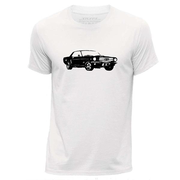 STUFF4 Men/'s Round Neck T-Shirt//Australian Flag//CS