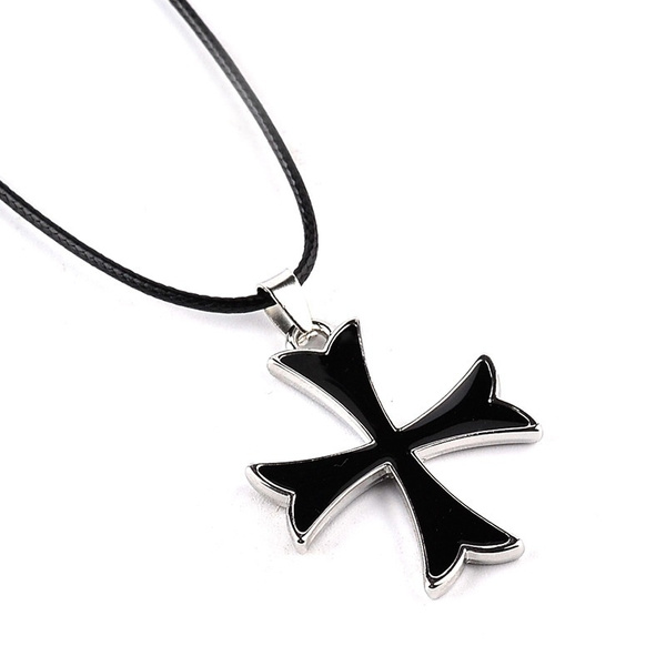 Assassin S Creed Templar Necklace Assassins Creed Figure Cosplay