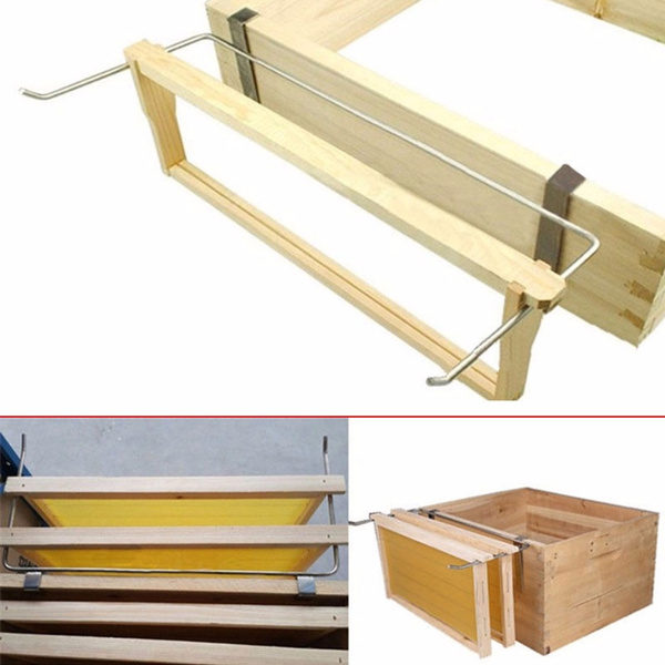 Stainless Steel Beekeeping Holder Bee Hive Perch Durable Equipment Tools