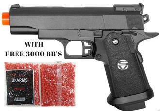 airsoftgun, pistol, Toys & Games, metalgun