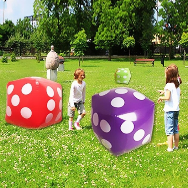 Casino Inflatable Dice Decorations x 2