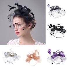 Vintage, chapeaudemaille, weddinghat, ribbonshatforwomen