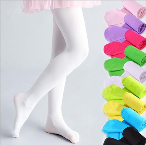 Baby Velvet Tights for Girls Kids Pantyhose Party Wedding Performance  Ballet Dance Hosiery