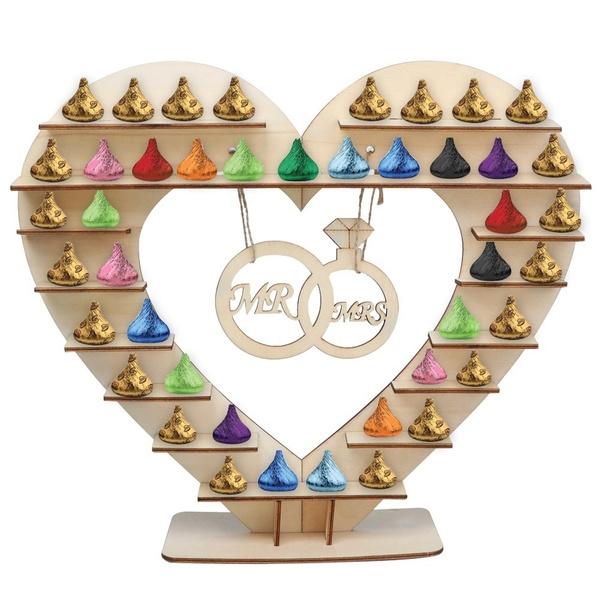 Wish Rustic Wedding Diy Decoration Cake Stand Candy Pop Ferrero