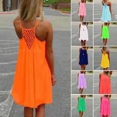 Summer, womens dresses, Mini, Dress