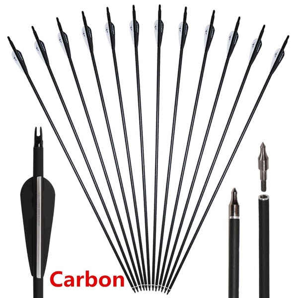 new high quality carbon 30 archery carbon target arrows