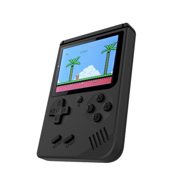 Retro Handheld Game Console Emulator Built-in 168 Games Video Games 3 Inch  Screen Handheld Console for FC