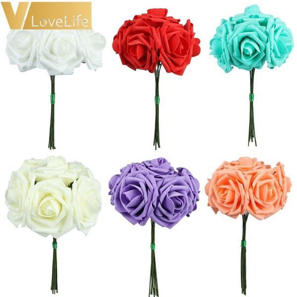 party, Head, Flowers, Bride