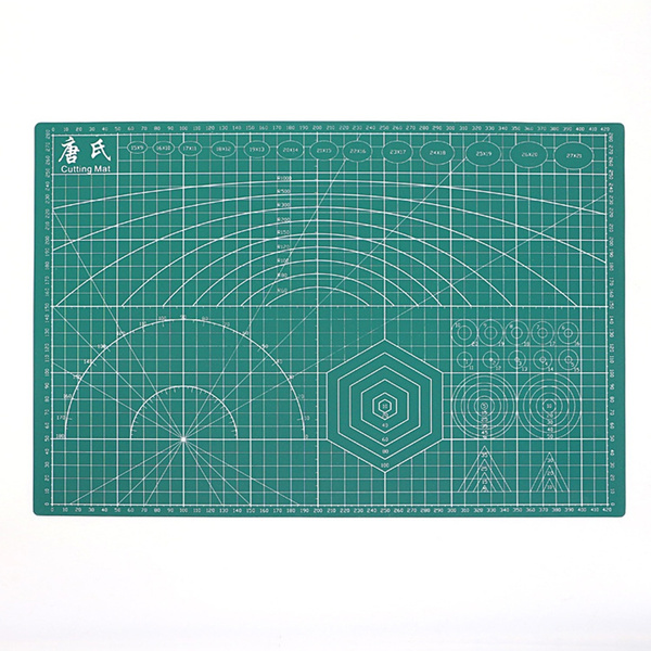 A3 Pvc Cutting Mat Double Sided Self Healing Cutting Board Fabric Leather Craft Diy Cutting Pad Quilting Accessories