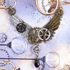 mixedgear, colar, Jewellery, Steampunk