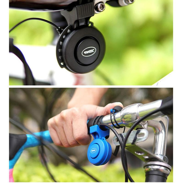 Sport Bike Bicycle Cycling Loud Electric Bell Horn Ring 6 Sound Alarm Handlebar
