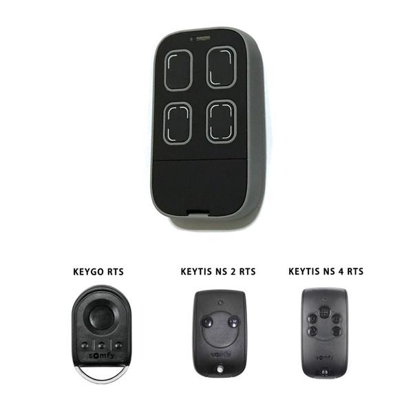 4 RTS Compatible Remote Control NS 4 RTS SOMFY Keytis NS 2 RTS 2 RTS