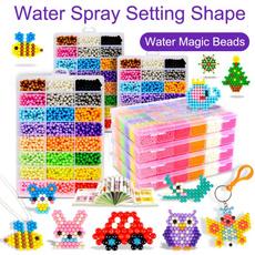 Magic, puzzlejigsaw, watermagicbead, diybead