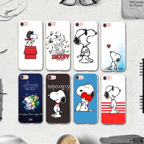 cover iphone 7 snoopy