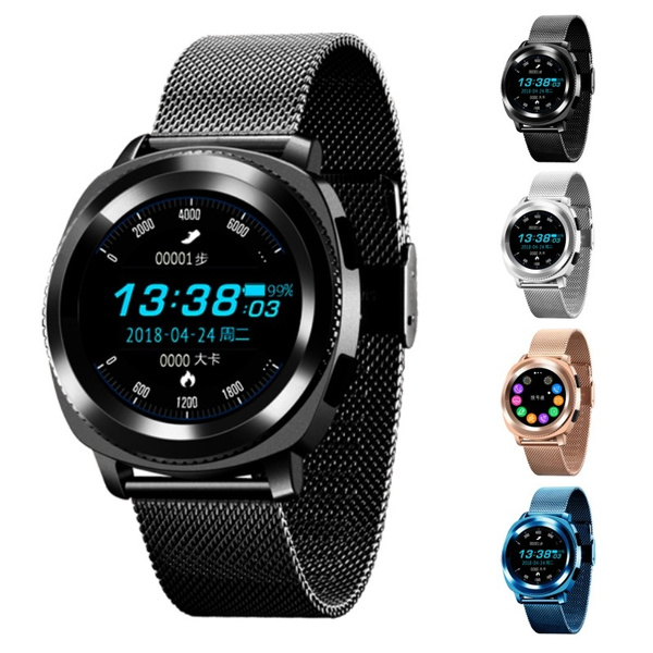2018 New Multi- Mode sports L2 PK KW18 L1 Smart watch MTK2502 SmartWatch  support Heart Rate Monitor for Android IOS Samsung gear S3 watch