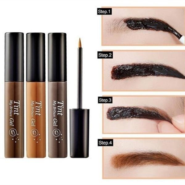 liquid, dyecreameyebrow, Eye Makeup, paintedeyebrowtool