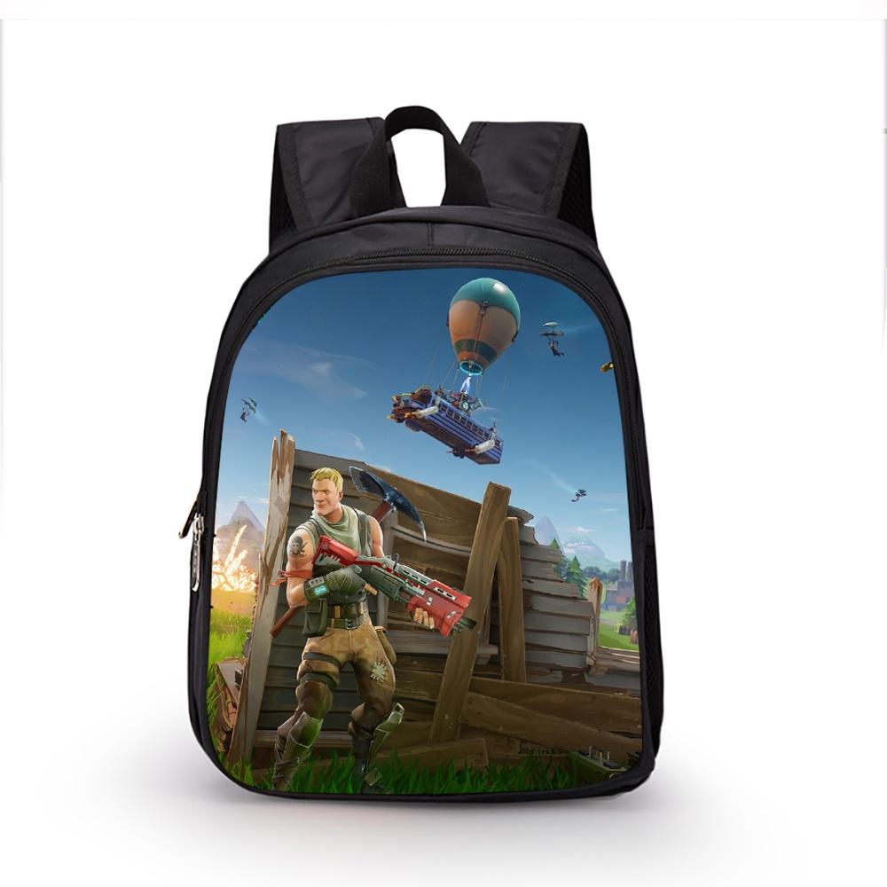 b2ff0b8d1f7dd Anime Fortnite Backpack Children Boys Girls School Backpacks ...