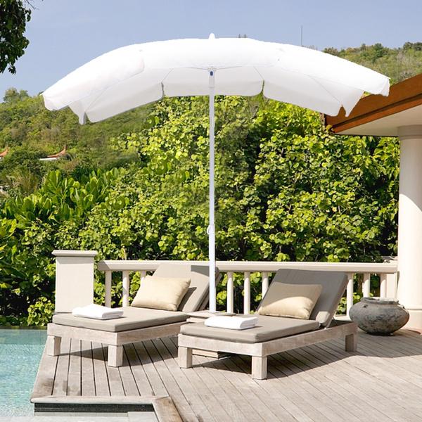 Garden Beach Picnic Chair Parasol Umbrella Sunshade Spike Sun Protection Shade
