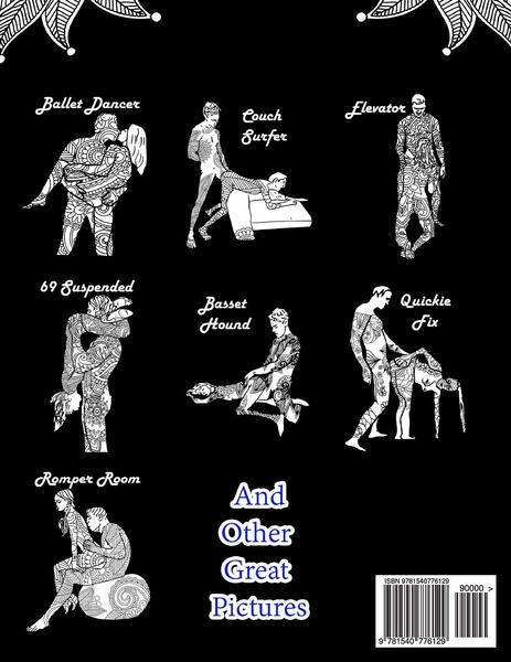 Wish Sex Position Coloring Book Nights Edition 40 Kamasutra Sex Positions Designs Sex Positions Coloring Book On Black Paper Volume 1