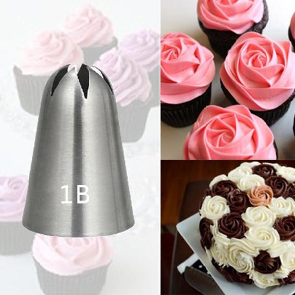 Steel, bakingnozzle, Flowers, Baking