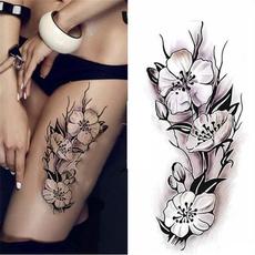tattoo, Flowers, temporarytattoosticker, tatoosandbodyart