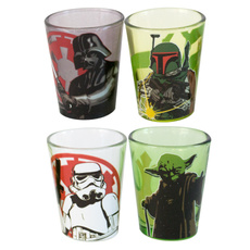 Geek, Shot Glasses, Star, Glass