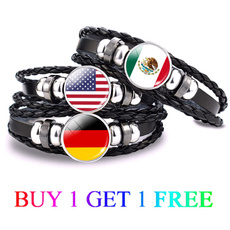 flagbracelet, worldflag, nationalflag, Jewelry