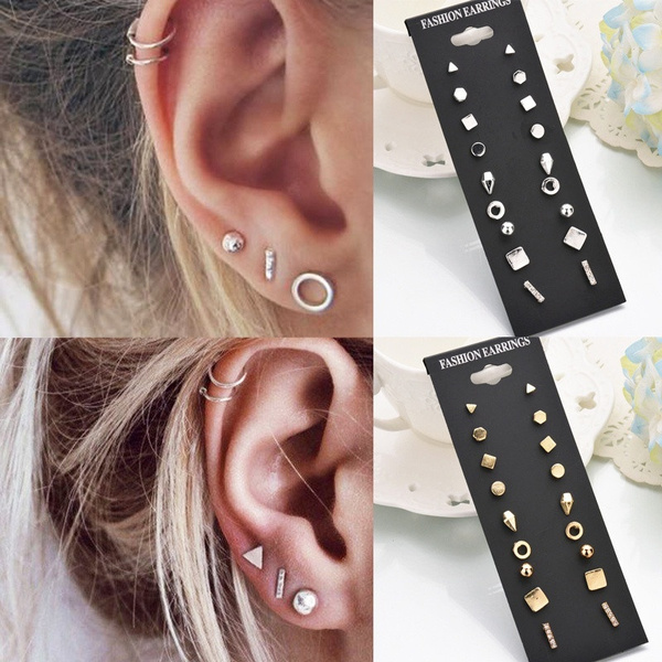 earrings studs, earri, punk earring, earringjewelry