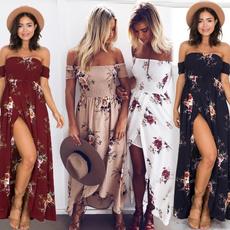 Summer, Strapless Dress, summer dress, floralprintdres